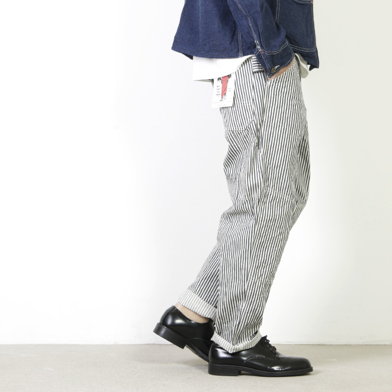 CAL O LINE (キャルオーライン) HICKORY CARPENTER PANTS / ヒッコリーカーペンターパンツ