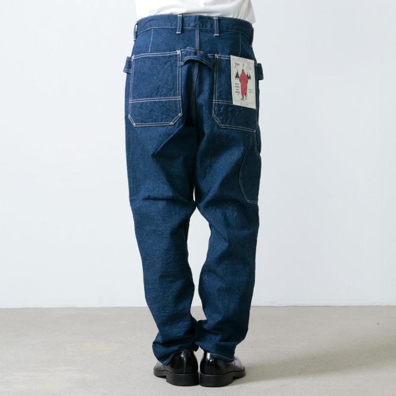 CAL O LINE(キャルオーライン) DENIM CARPENTER PANTS