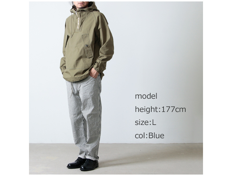CAL O LINE(キャルオーライン) HICKORY CARPENTER PANTS