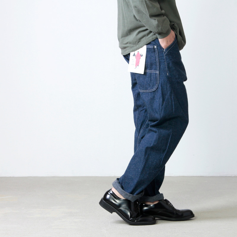 CAL O LINE (キャルオーライン) COMFORT PAINTER PANTS for Man / コンフォートペインターパンツ メンズサイズ