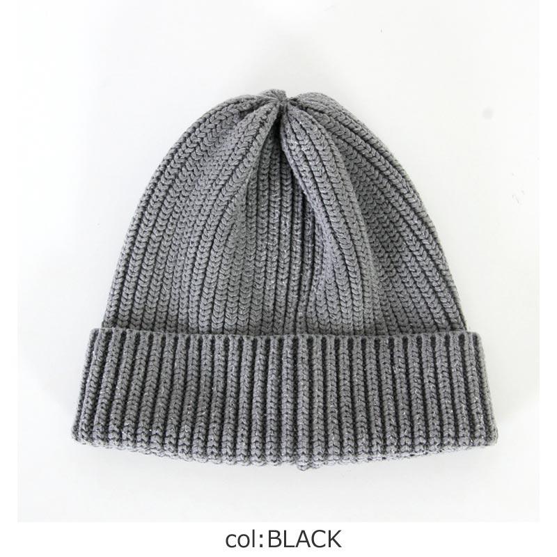 CAL O LINE(キャルオーライン) SILK KNIT CAP2