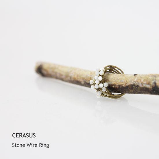 CERASUS(ケラスス) Stone Wire Ring