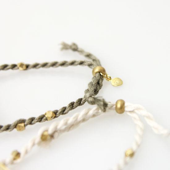 CERASUS(ケラスス) Brass String ブレスレット