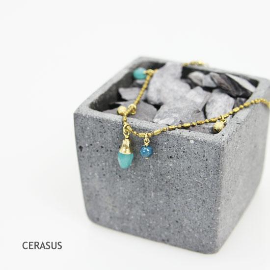 CERASUS(ケラスス) シャーベットアゲートブレスレット