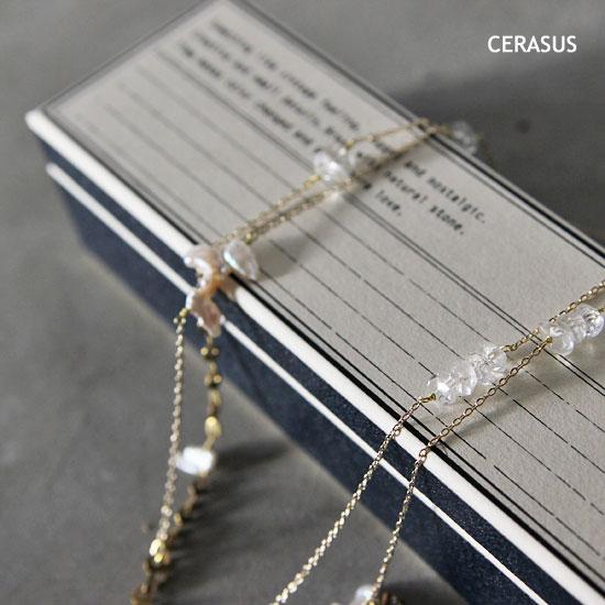 CERASUS(ケラスス) Keshi pearl Longネックレス