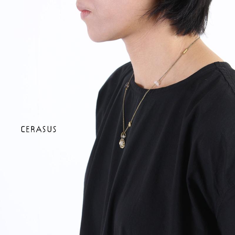 CERASUS(ケラスス) ロータスハーキマネックレス