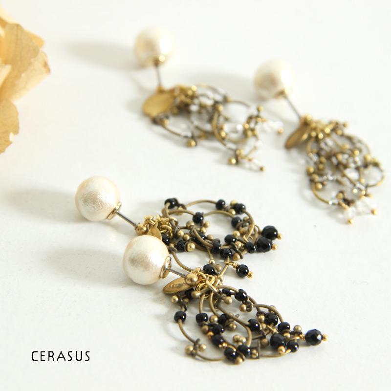 CERASUS(ケラスス) Grains Wire Chain ピアス