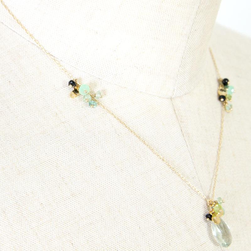 CERASUS(ケラスス) Green Stone ネックレス