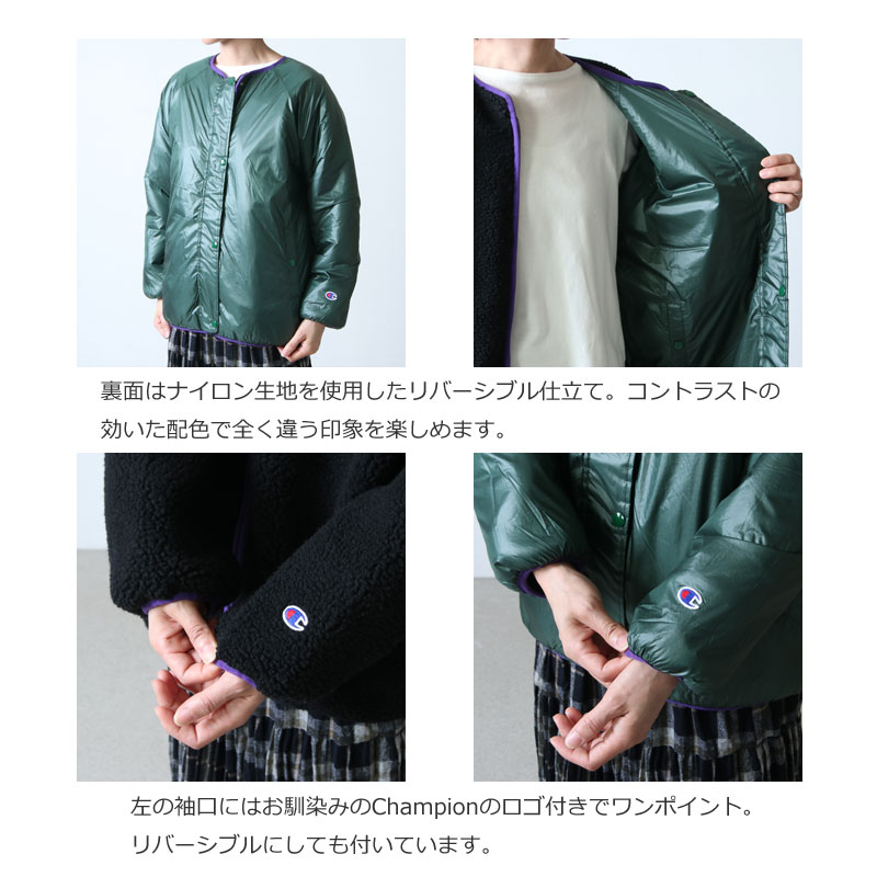 Champion(チャンピオン) REVERSIBLE FLEECE JACKET
