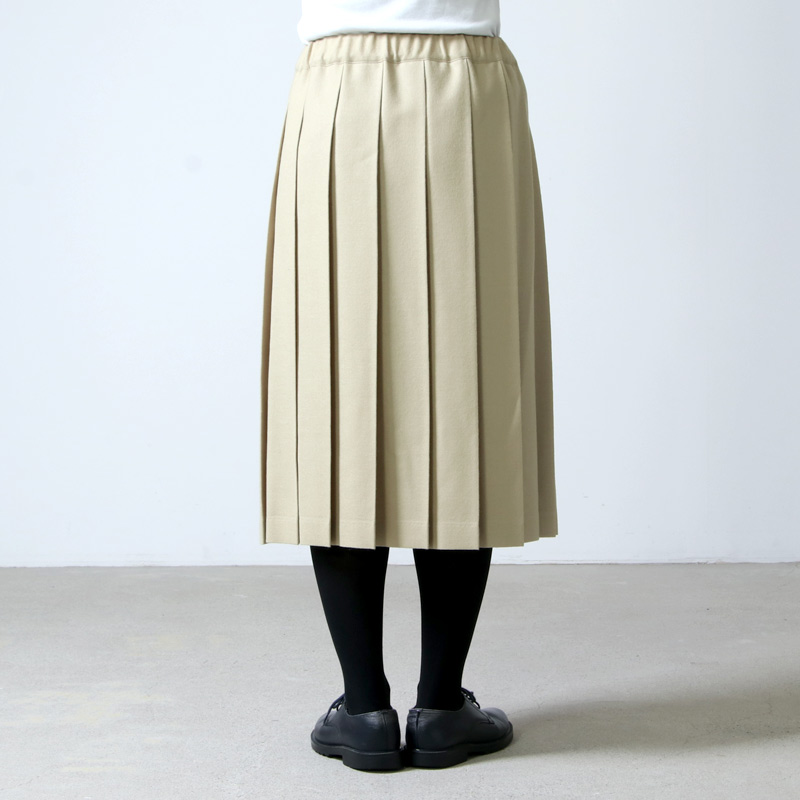 Charpentier de Vaisseau(シャルパンティエ ドゥ ヴェッソ) ウールプリーツスカート Belle