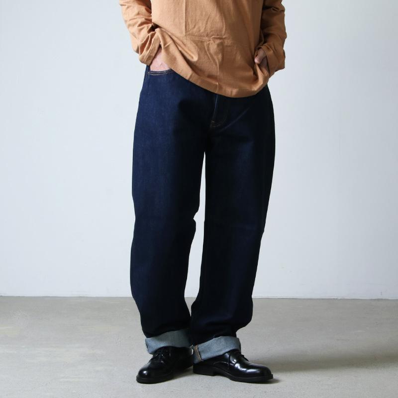 CIOTA (シオタ) 本藍スビンコットン 13.5oz ストレートデニム ネイビーOW