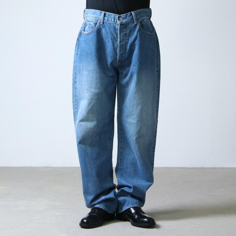 CIOTA(シオタ) 本藍スビンコットン 13.5oz ストレートデニム ミディアムブルー