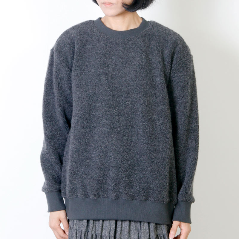 Commencement(コメンスメント) Wool pile l/s tee