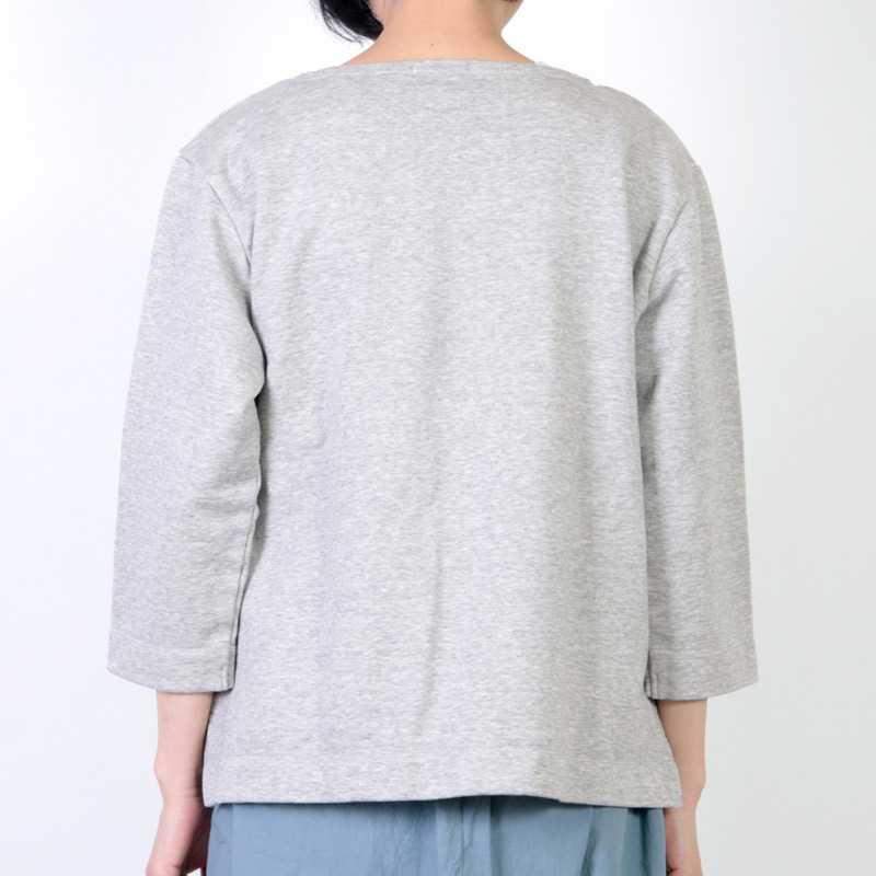 Commencement(コメンスメント) Boatneck l/s tee