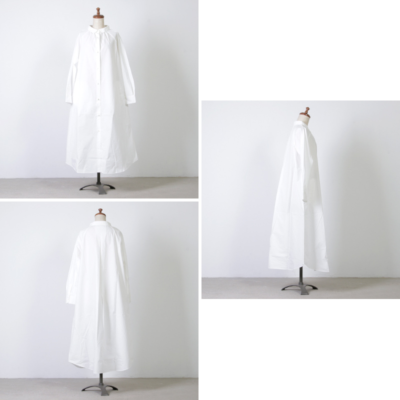 Commencement(コメンスメント) Over shirts onepiece
