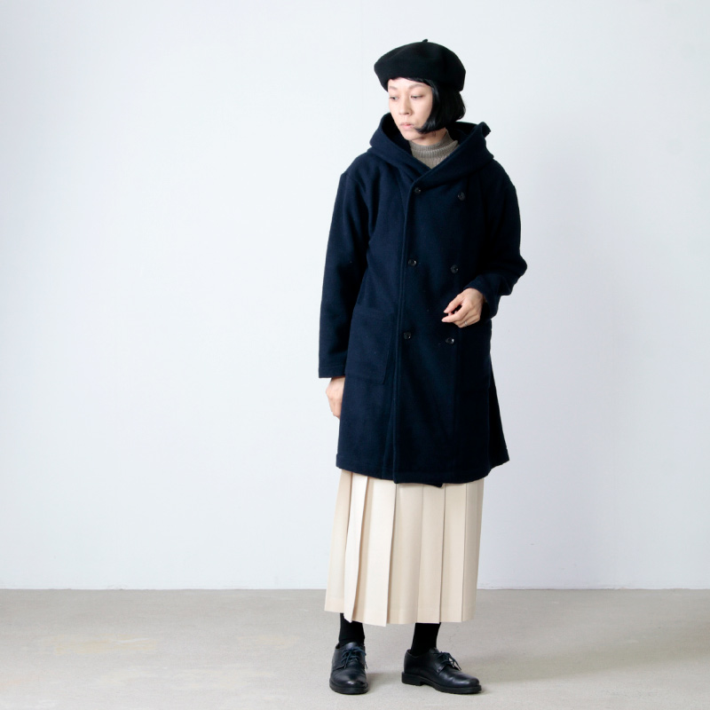 Commencement(コメンスメント) Wool parker coat