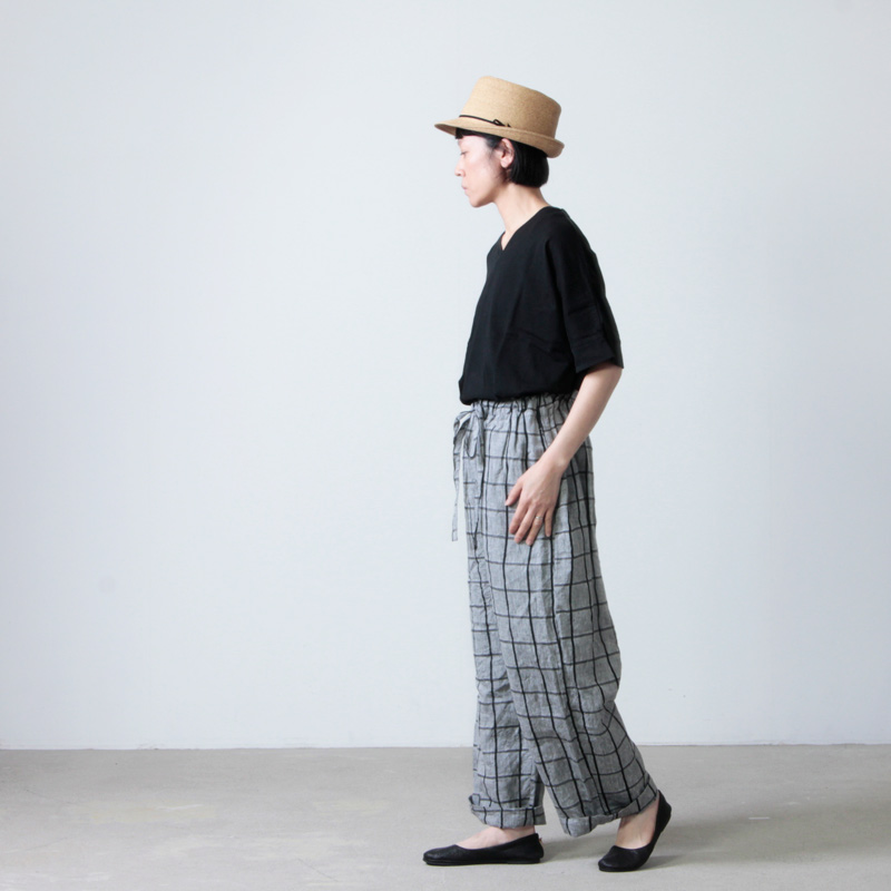 Commencement(コメンスメント) V-neck dolman s/s tee