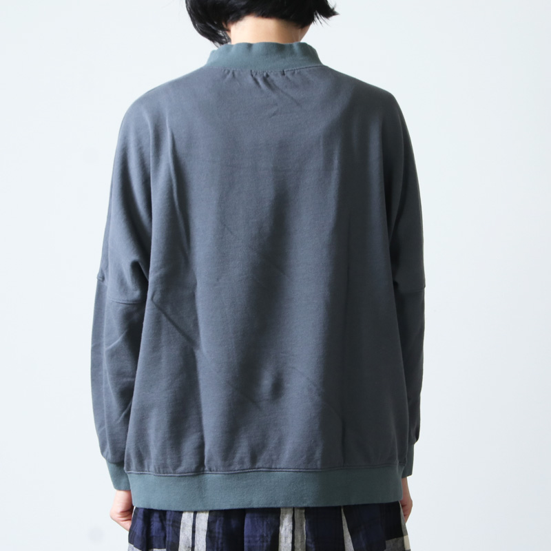 Commencement(コメンスメント) High neck wide L/S Tee