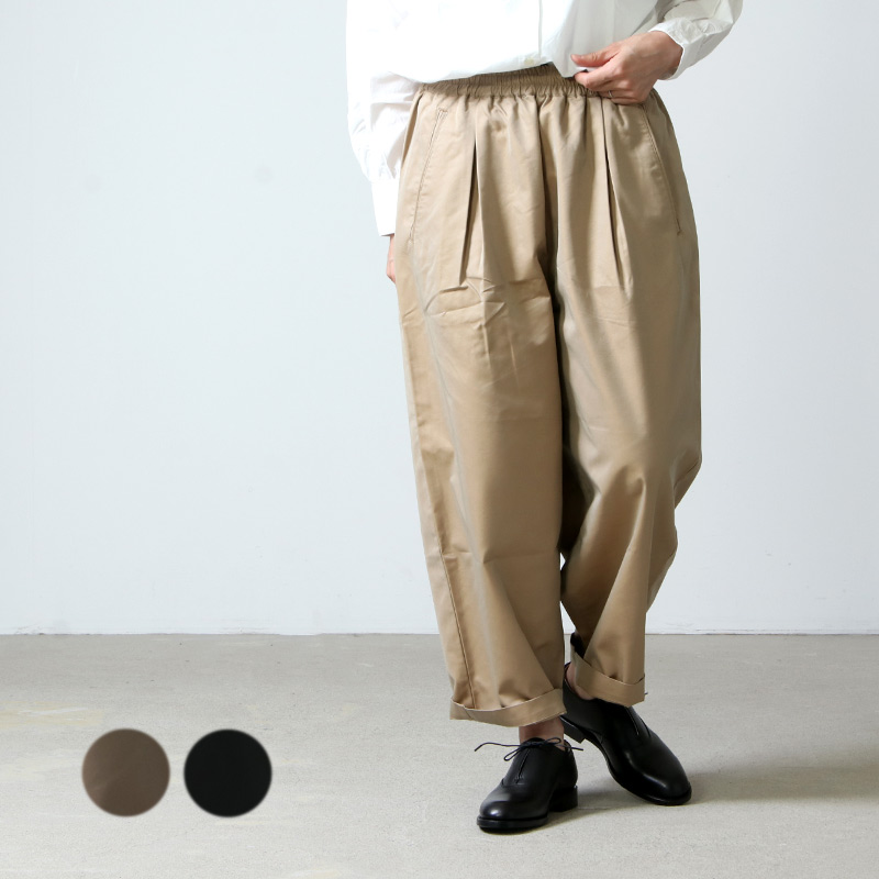 Commencement (コメンスメント) T/C wide pants / ワイドパンツ