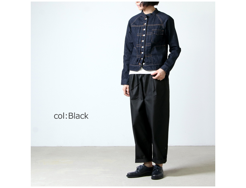 Commencement(コメンスメント) T/C wide pants