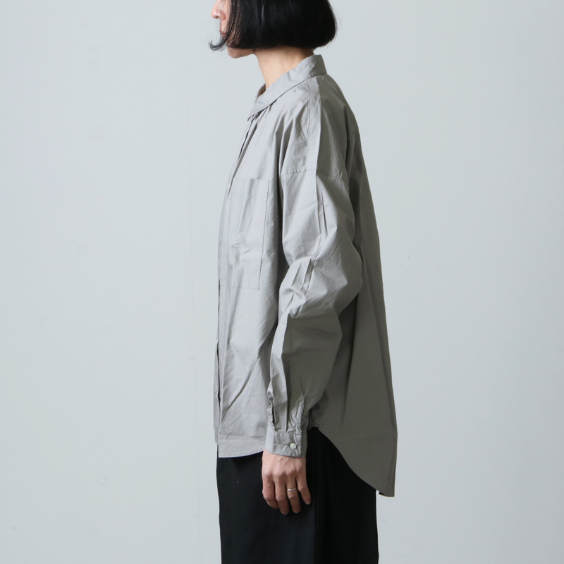 Commencement(コメンスメント) Wide shirts