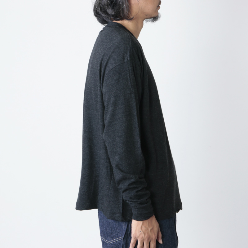 COMOLI(コモリ) ウール天竺 長袖クルー