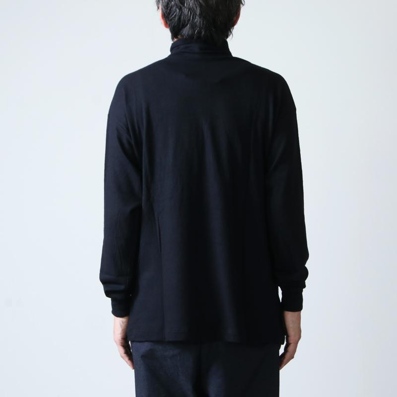 COMOLI(コモリ) ウール天竺 長袖タートルネック