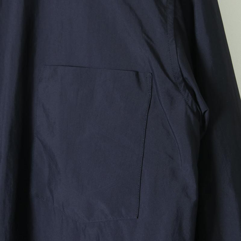 COMOLI(コモリ) ナイロン シャツジャケット