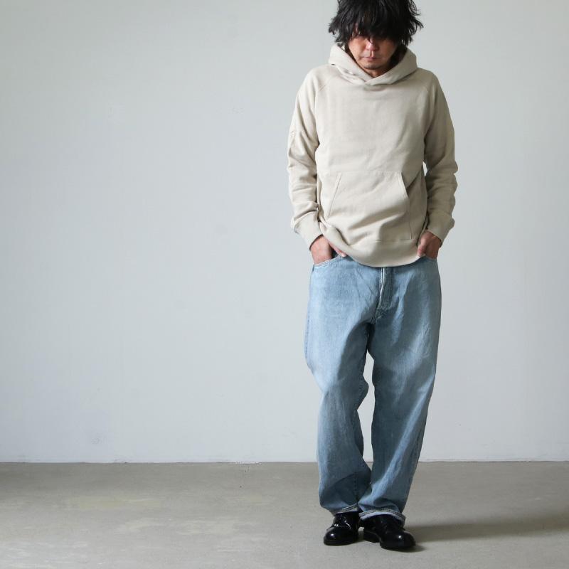 COMOLI(コモリ) デニム 5Pパンツ BLEACH