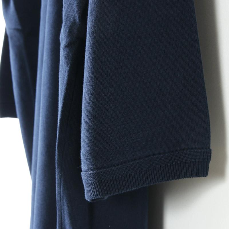 crepuscule(クレプスキュール) Pocket knit tee 3/4