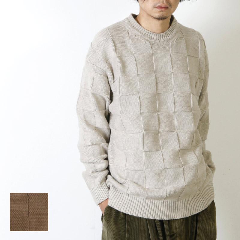 crepuscule (クレプスキュール) links knit pullover / リンクスニットプルオーバー