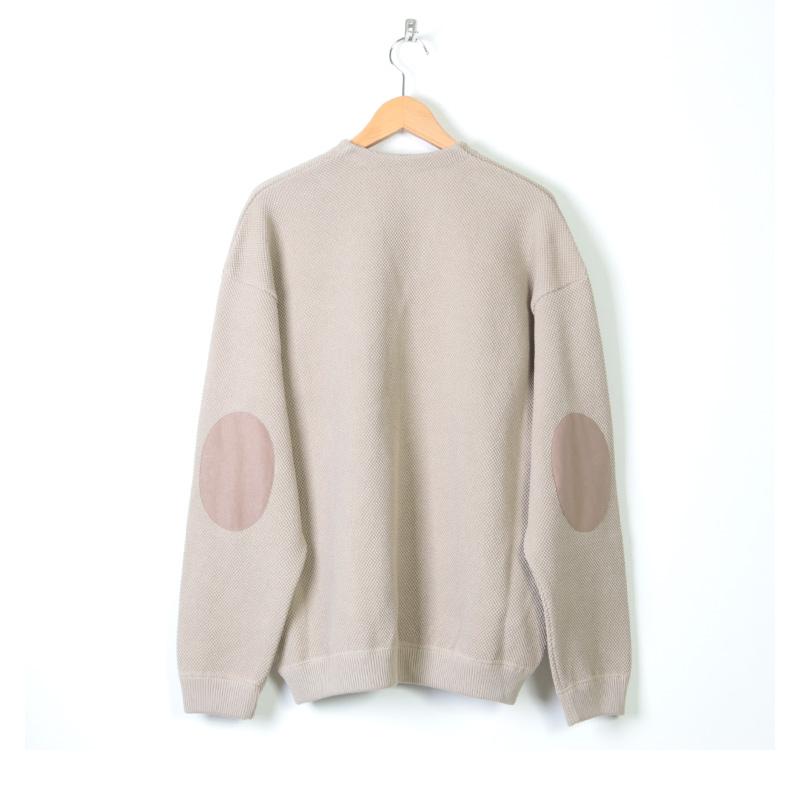 crepuscule(クレプスキュール) moss stitch V/N cardigan
