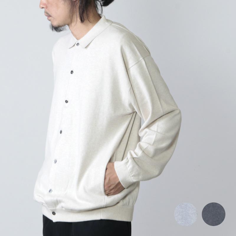 crepuscule (クレプスキュール) knit shirts L/S / ニットシャツ ロングスリーブ