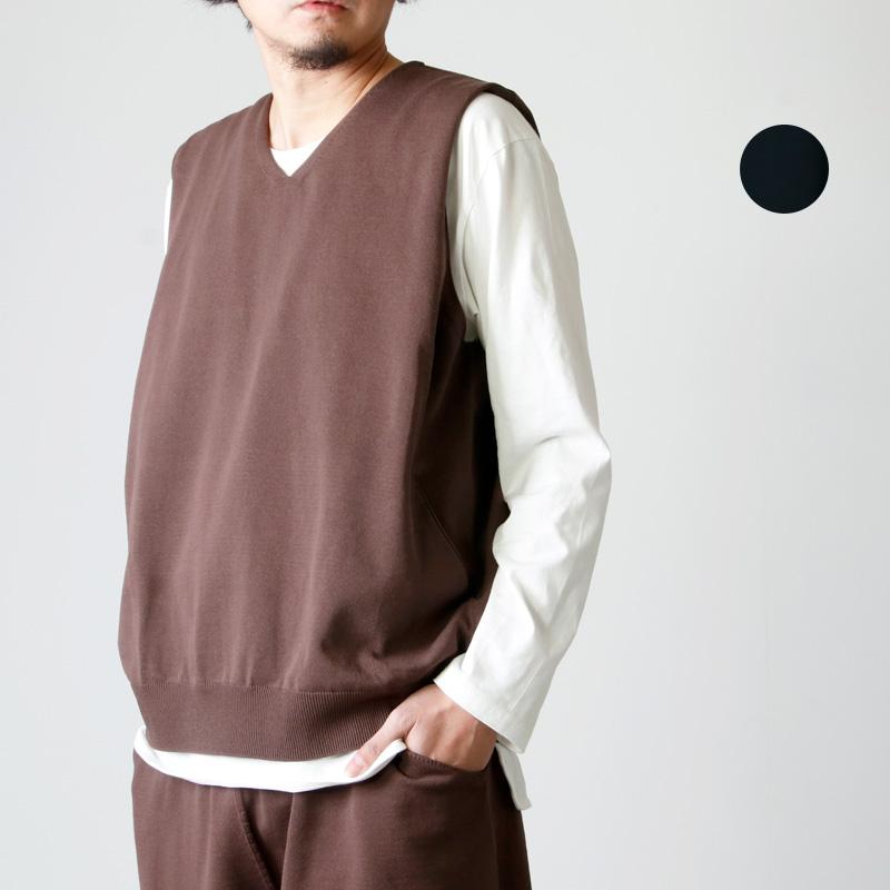 crepuscule (クレプスキュール) wholegarment vest / ホールガーメントベスト