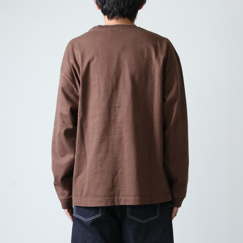 crepuscule(クレプスキュール) L/S pocket t-sh
