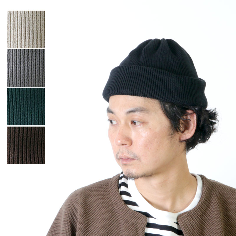 crepuscule (クレプスキュール) knit cap 2 / ニットキャップ2