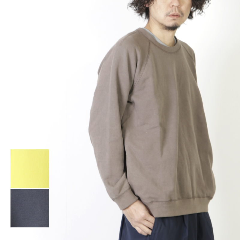 CURLY (カーリー) FROSTED CREW SWEAT / フロステッドクルースウェット