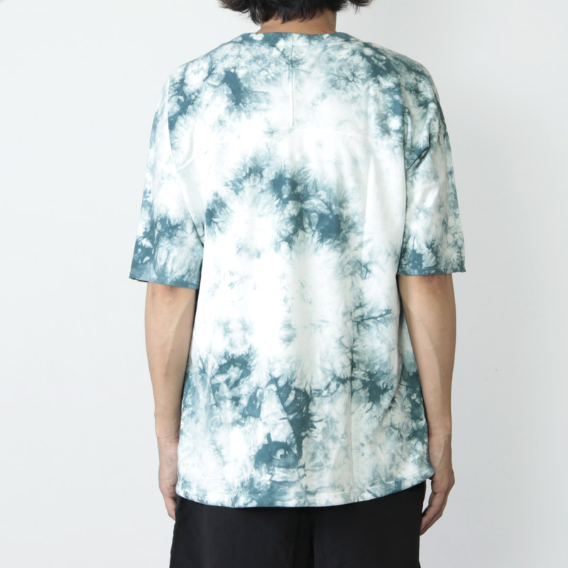 CURLY(カーリー) CLOUDY HS SWEAT with CAGE DYE