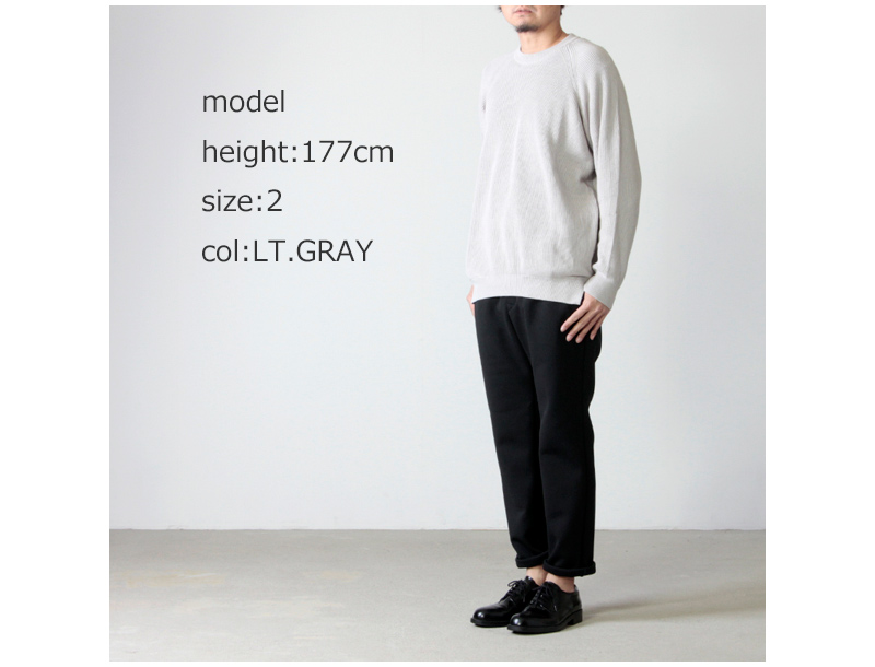 CURLY(カーリー) ASSEMBLY CREW KNIT