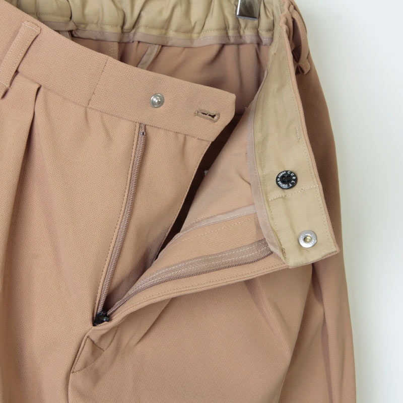 CURLY(カーリー) BOUNCE TROUSERS  Plain