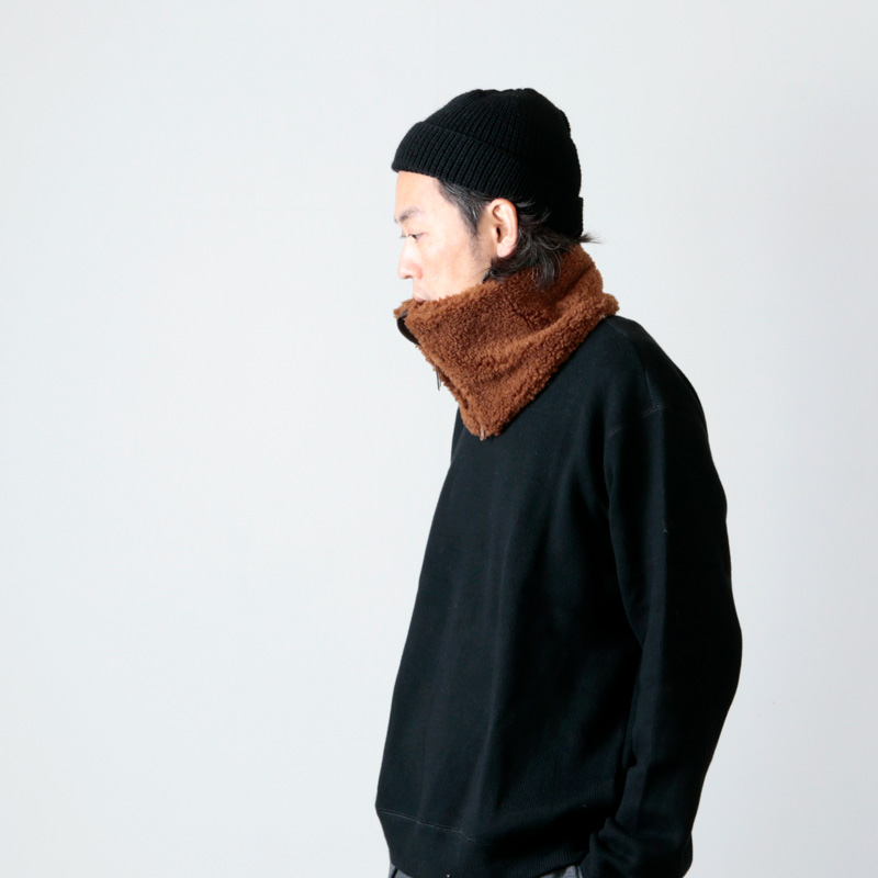CURLY(カーリー) CLOUDY BOA NECK WARMER