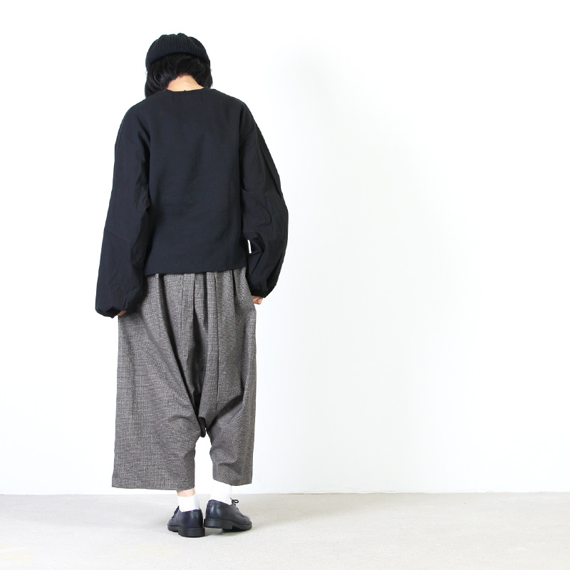 dahl'ia(ダリア) 袖切替えリメイクTee