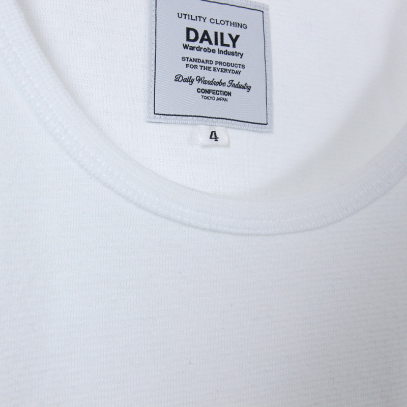 DAILY WARDROBE INDUSTRY(デイリーワードローブインダストリー) DAILY T/T CUT AND SEWN
