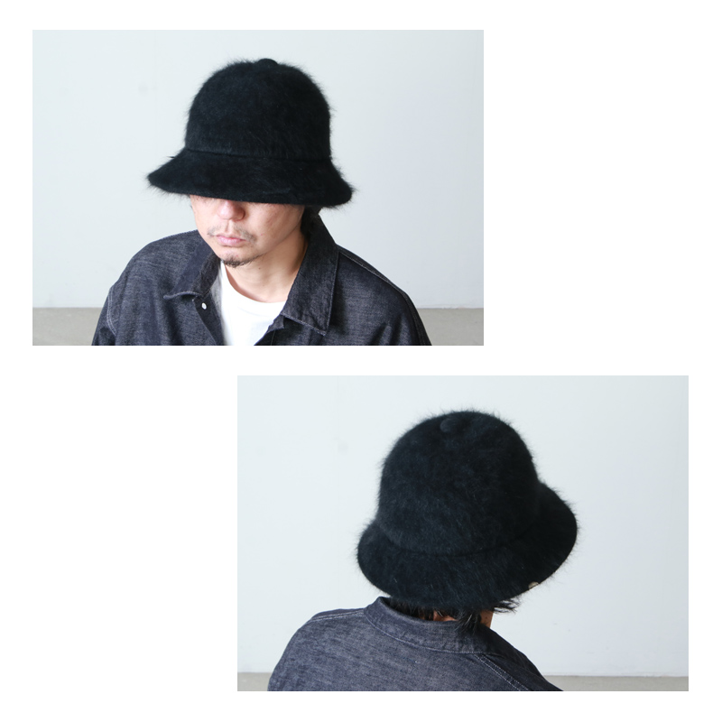 DECHO(デコー) FUR KNIT BELL HAT