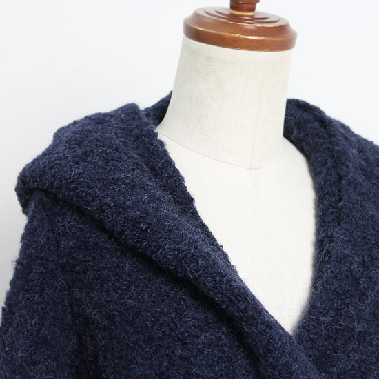 denicher(デニシェ) ループ編みフーデッドジャケット