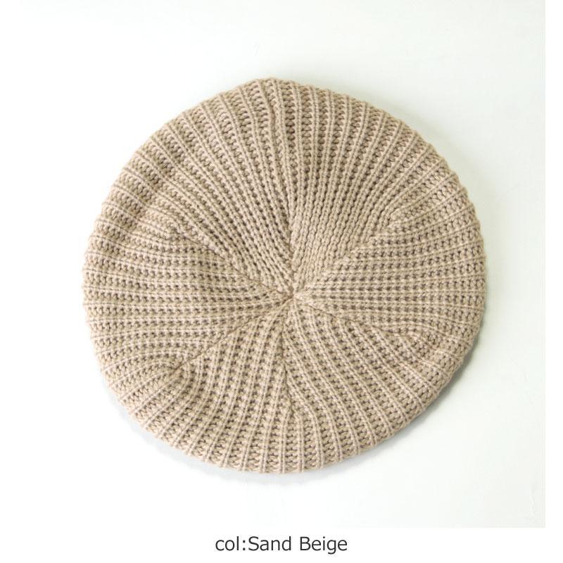 DISCE GAUDERA(ディスケガウデーレ) Knit Beret