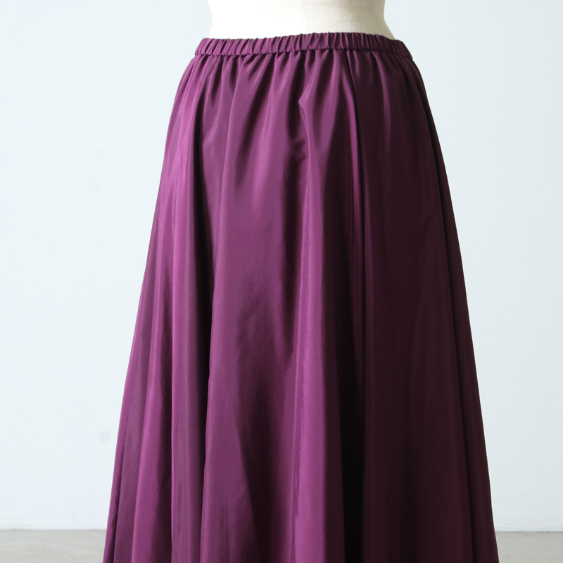 dolly-sean(ドリーシーン) グロッシーローンフレアロングスカート