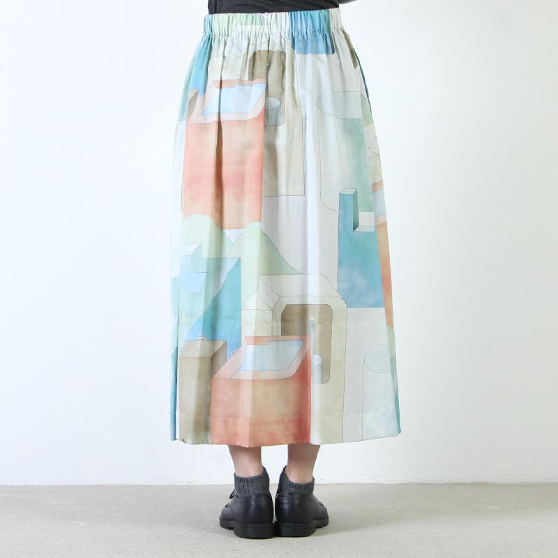 Dulcamara(ドゥルカマラ) ランドスケープロングスカート