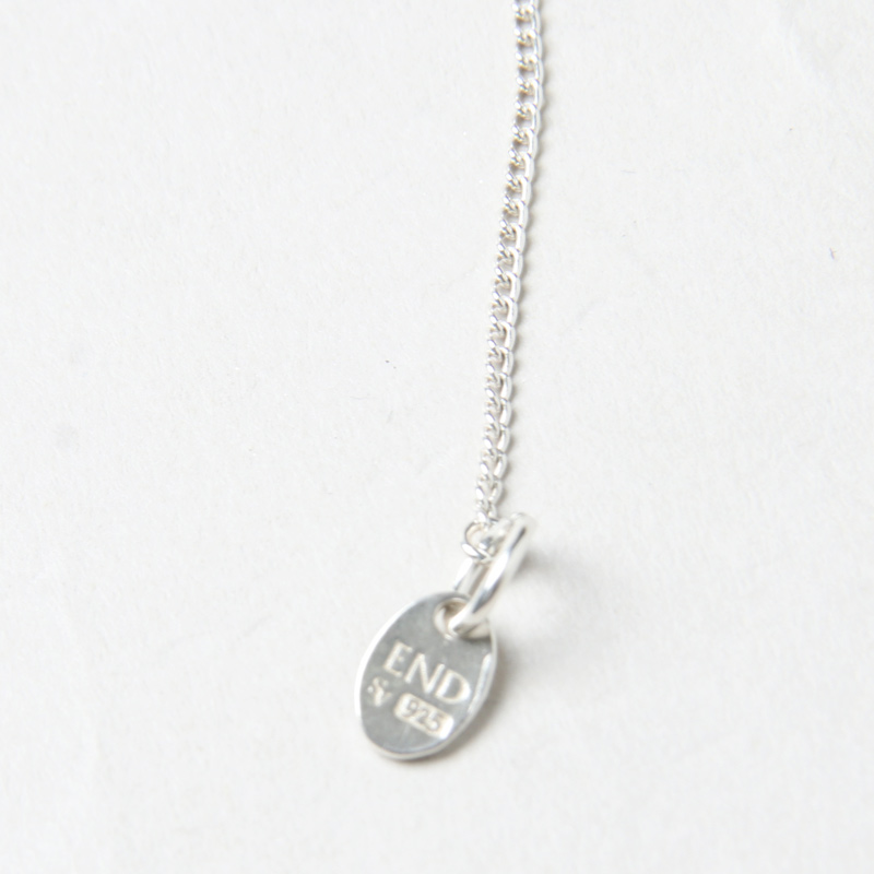 END CUSTOM JEWELLERS(エンドカスタムジュエリー) MINIATURE DOGTAG NECKLACE