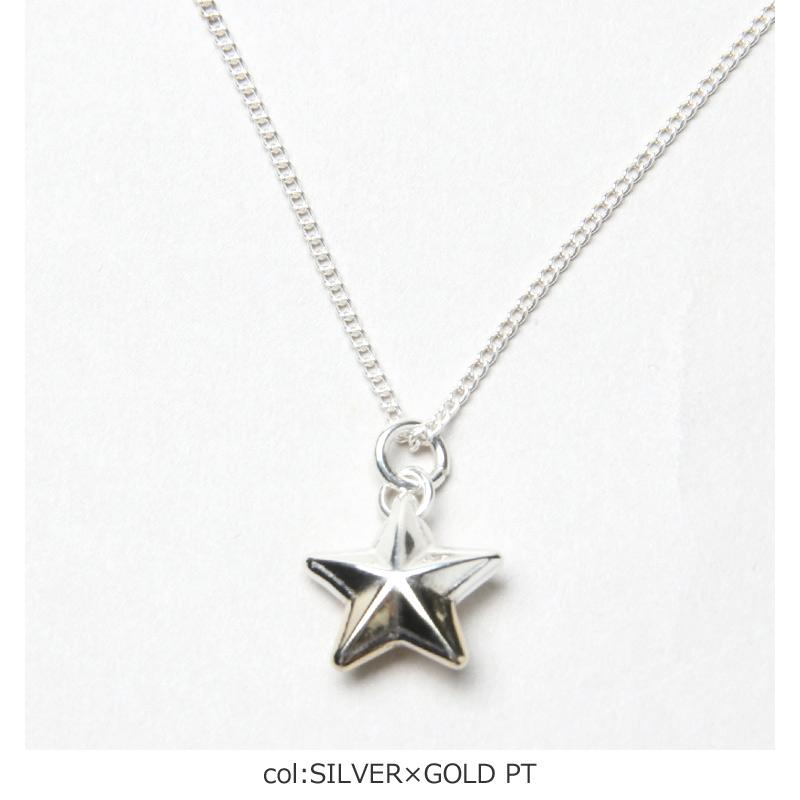END CUSTOM JEWELLERS(エンドカスタムジュエリー) RIM STAR NECKLACE